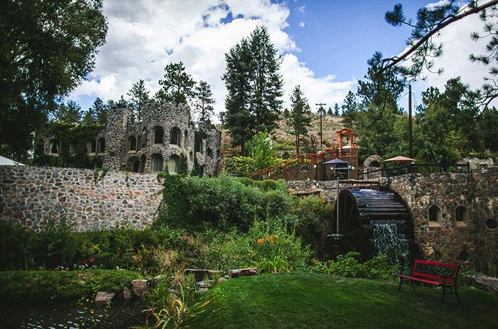 Dunafon Castle Located in Morrison, Colorado, next to