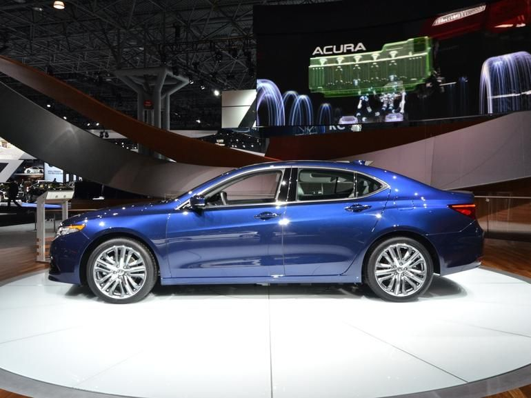 2015 Acura TLX Preview - CNET
