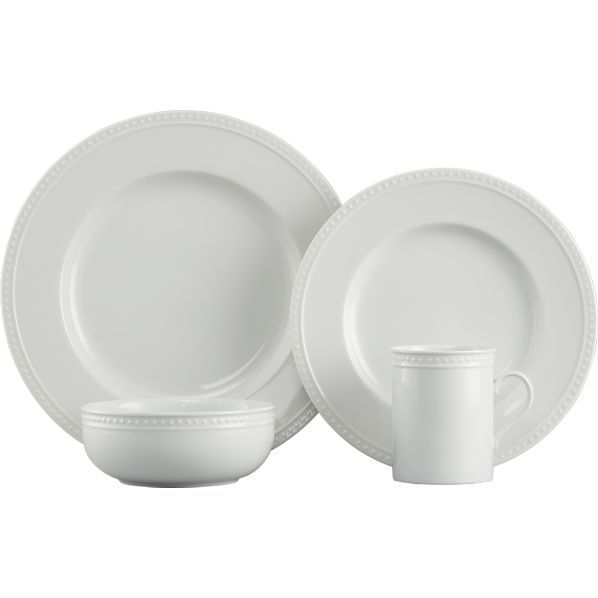 Staccato Dinnerware in Dinnerware Sets | Crate and Barrel- porcelain and open stock with excellent reviews from customers who have had this dinnerware for ...  sc 1 st  Pinterest & Staccato Dinnerware | Dinnerware Crates and Barrels