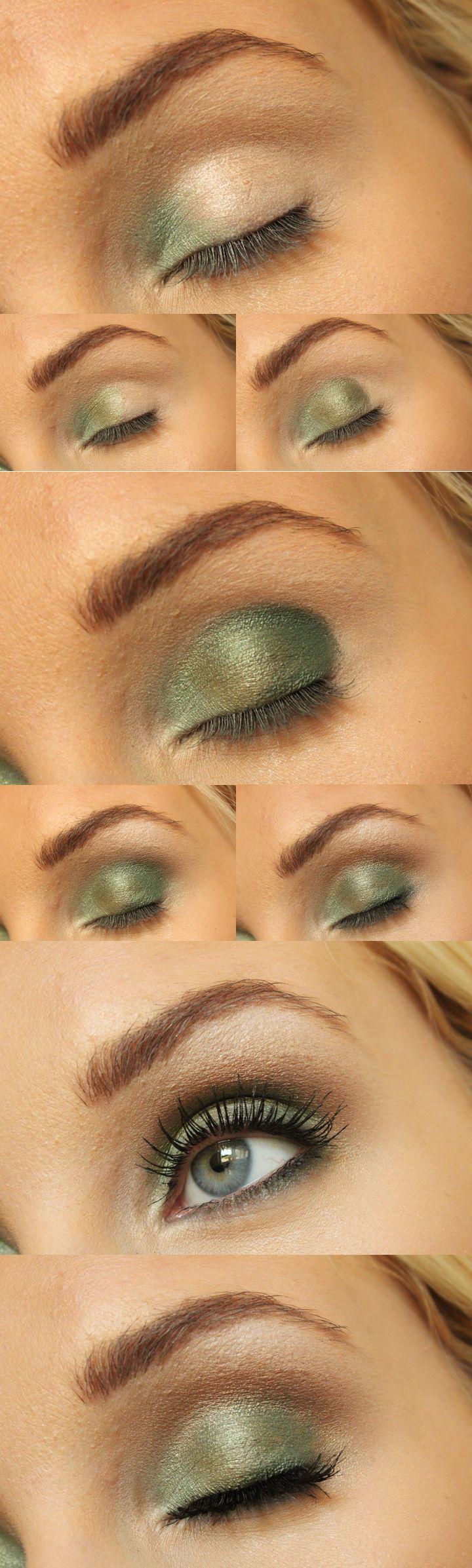 Camo eyeshadow tutorial