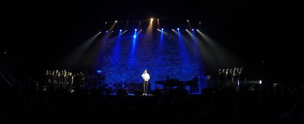 Lotta Hällström ‏@ihanuusteoria 1h Thank you @Josh Groban for a magical concert in Helsinki tonight. Welcome back soon. pic.twitter.com/m4dZXA5Mdo  Retweeted by Kim