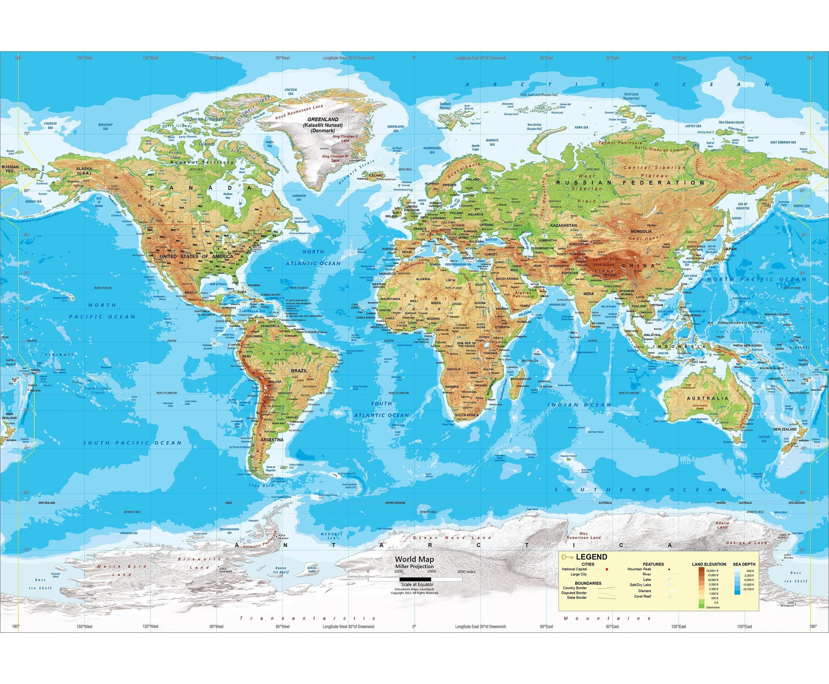 Inspirationa World Map Mountains Pdf Fresh Test Your Geography And