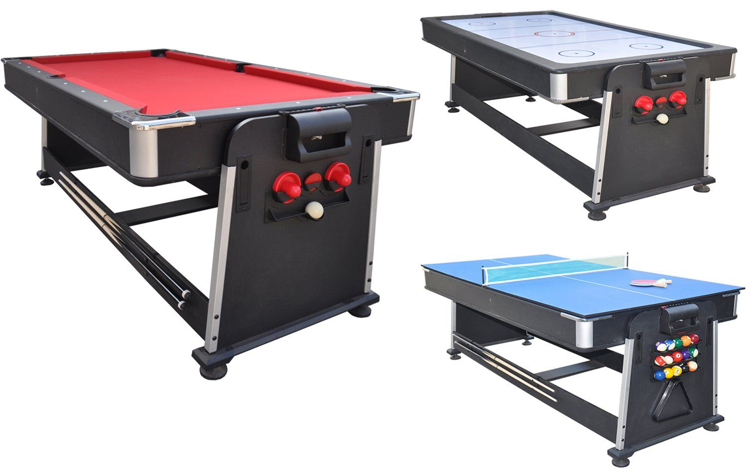 Strikeworth 7 Foot Multi Games Table | Liberty Games