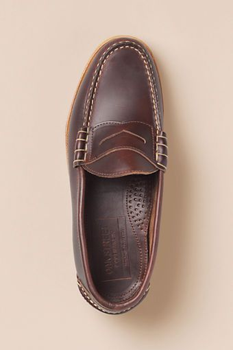 6dc30d6a2c0 Day 1  Men s Oak Street Bootmakers Brown Crepe Sole Beefroll Penny Loafer