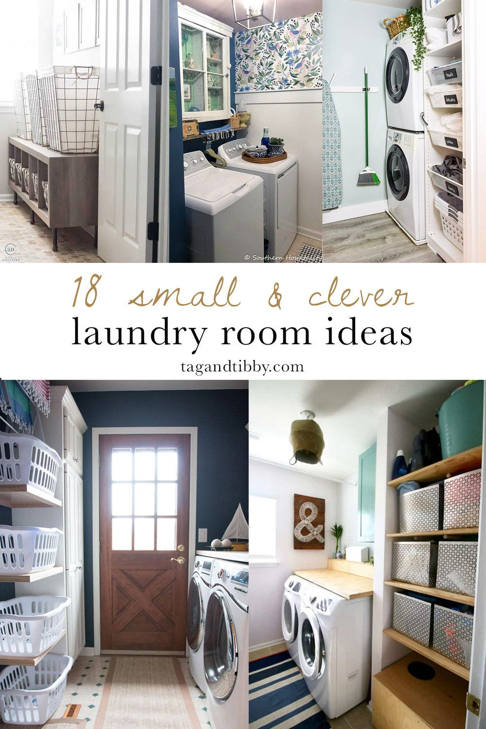 18 Small Laundry Room Makeover Ideas Tag Tibby Design Small Laundry Room Makeover Laundry Room Makeover Small Laundry Rooms