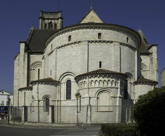 Cathédrale Saint-Caprais - Agen. Aquitaine