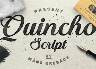 Quincho script font font pinterest fonts calligraphy and sans
