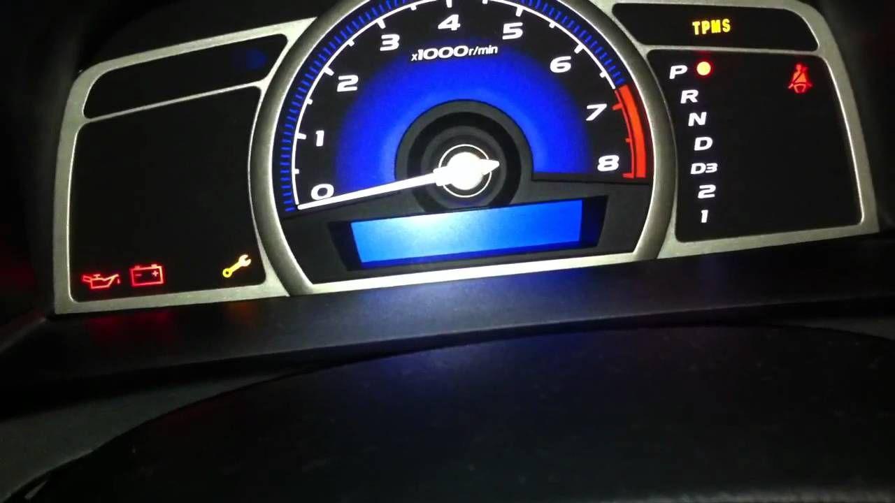 How to Reset Maintenance/Oil Light on 20092011 Honda