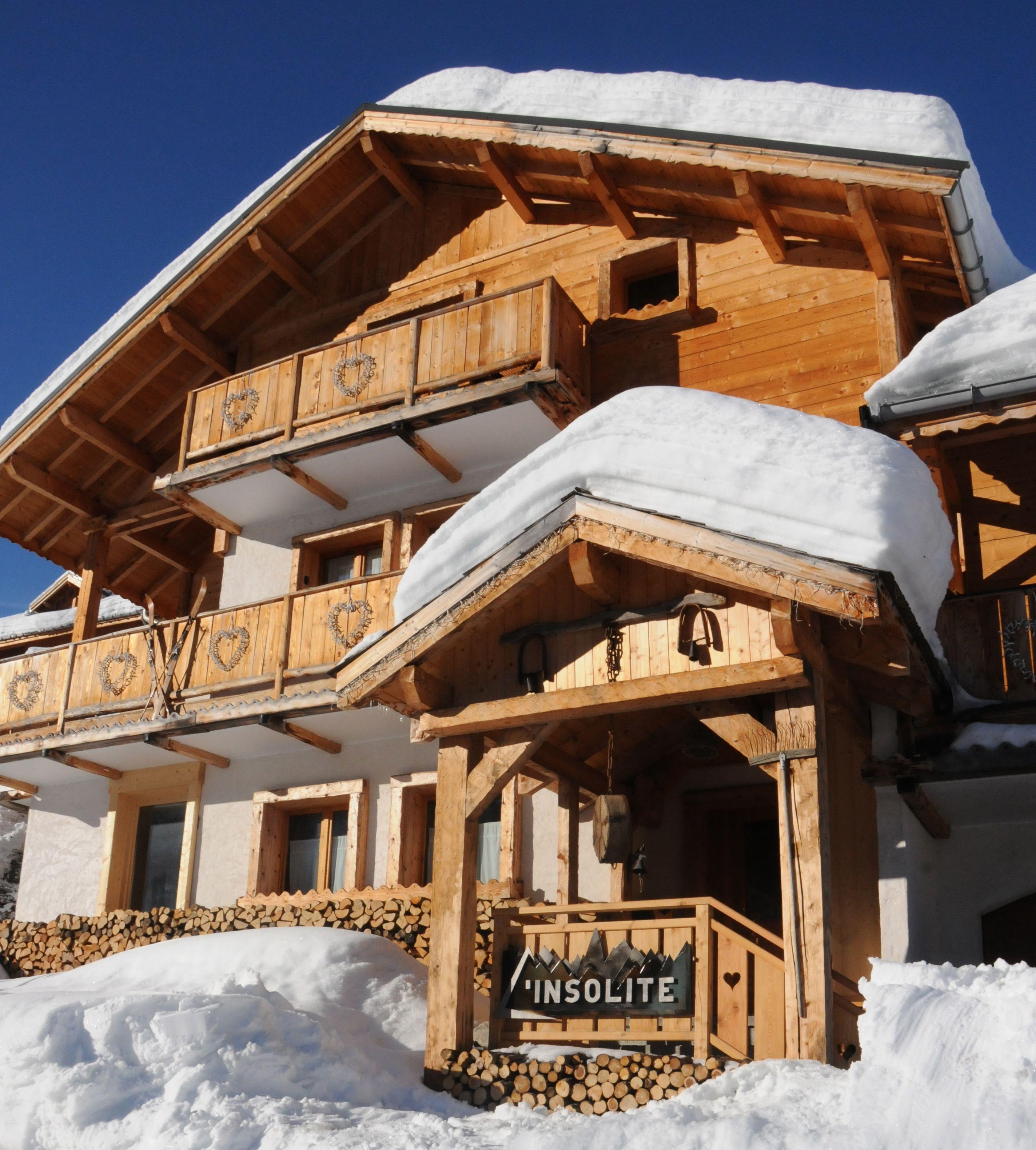 location chalet ski famille