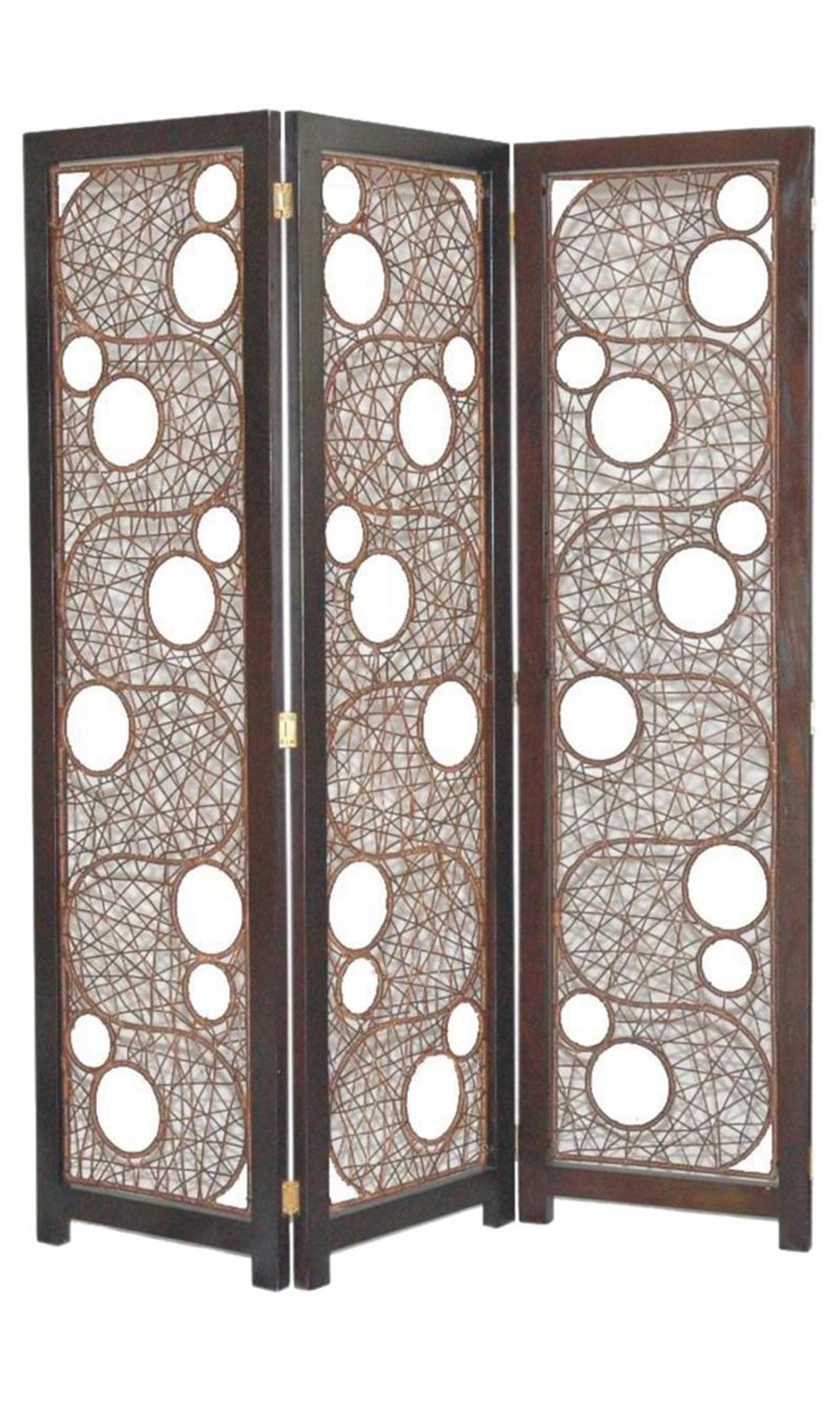 Unique room dividers for home accessories cascade with 3 fold folding screens room dividers - Decorative partitions room divider ...
