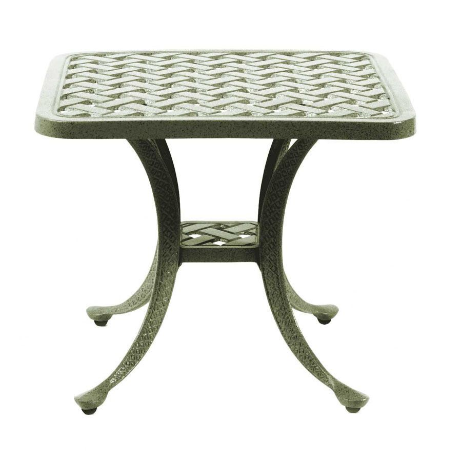 Genial Basketweave End Table   Outdoor, Patio Furniture Toronto, Waterloo, Ottawa    Hauser Stores
