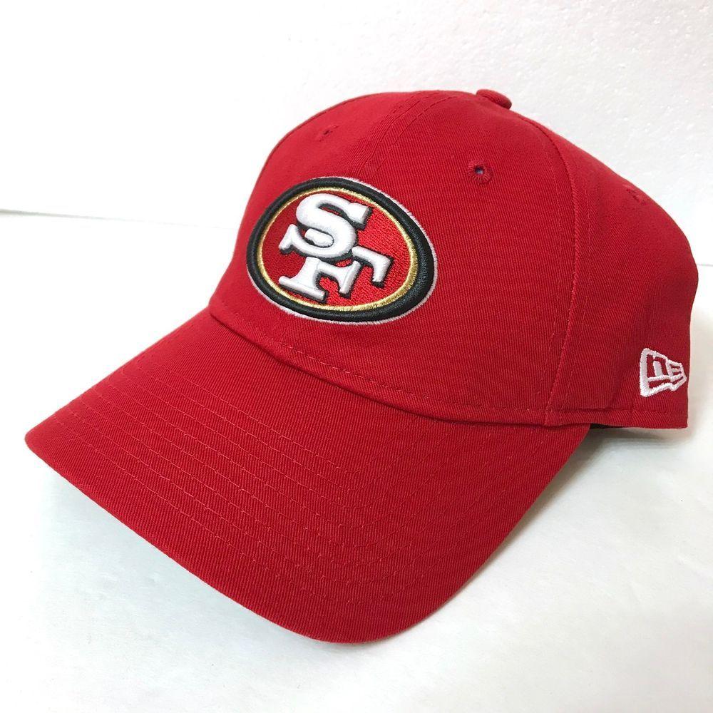 7f28dd5ba944f  22 Womens SAN FRANCISCO 49ERS HAT unstructured dad cap red gold NEW ERA  Ladies  NewEra  SanFrancisco49ers