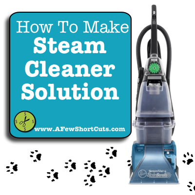 How To Make Homemade Steam Cleaner Solution Steam