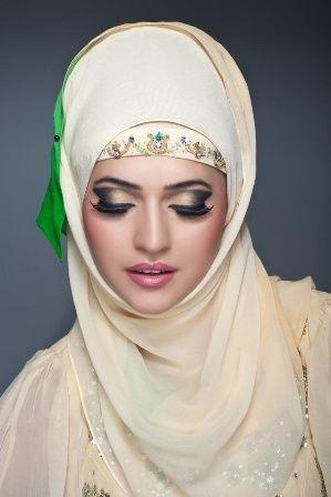 Arabic Bridal Makeup Beautiful Hijab Hijab Fashion