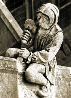 Medieval Stonemason At Work Related Keywords & Suggestions ...
