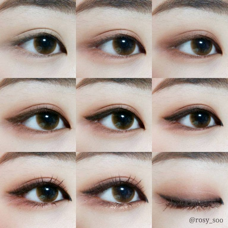 26 Easy Step By Step Makeup Tutorials For Beginners Pretty Designs Korean Eye Makeup Korean Makeup Tutorials Asian Eye Makeup
