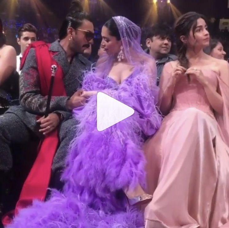 Watch Deepika Padukone And Ranveer Singh Displayed Most Scintillating Chemistry At The Iifa2019 And We Are Melting Hungryboo Best Dressed Award Ranveer Singh Nice Dresses