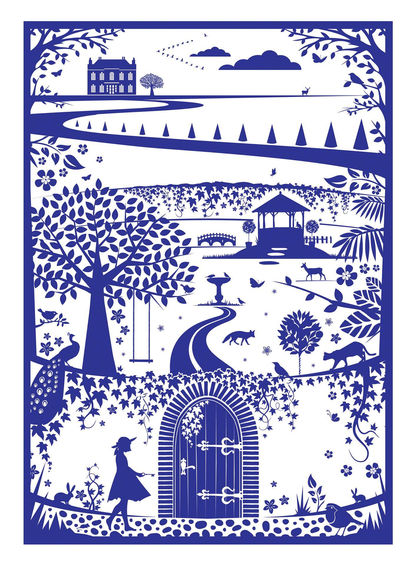 Secret Garden Paper | title secret garden paper size a2 420 x 592 mm paper type matte finish ...