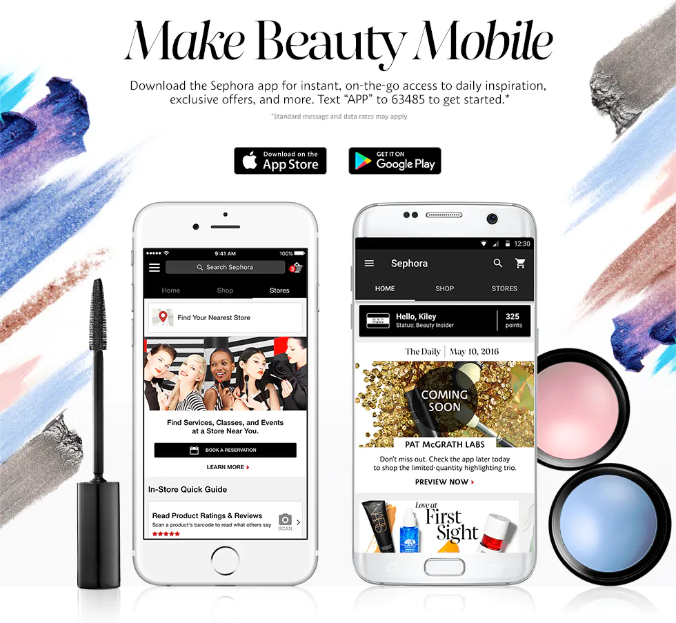 Pin by Alexander Peterson on Going mobile Sephora app