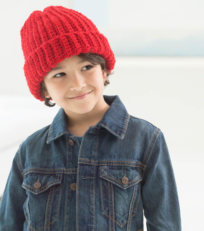 How To Make A Child\'s Easy Crochet Hat | Knitting/Crocheting | Pinterest