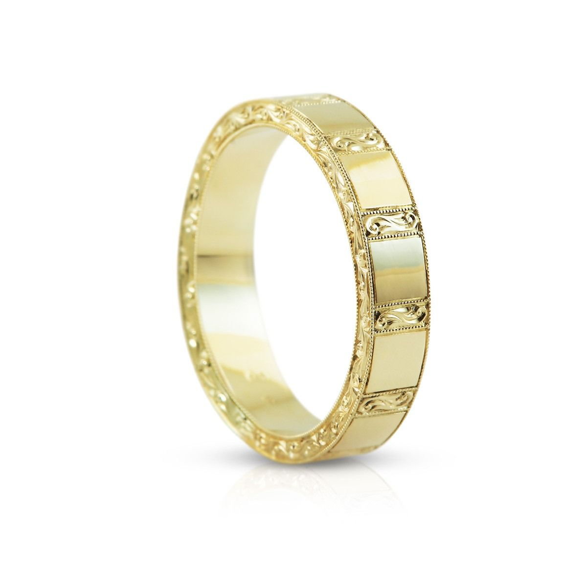 The Barocco Bold Men s Wedding Ring comes from Affianced Jewellery ... 879fcc557a