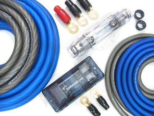 knukonceptz kolossus flex 0 gauge dual power amp installation wiring rh pinterest ca dual audio wiring diagram 2 Gauge Amp Wiring Kit