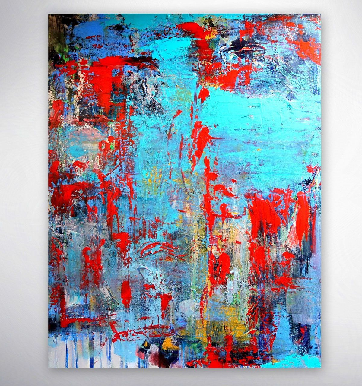 Bild Bunt Modernes Acrylbild Gemälde Originale Unikate Bilder Modern Ab In 2021 Abstract Canvas Art Abstract Art Painting Abstract