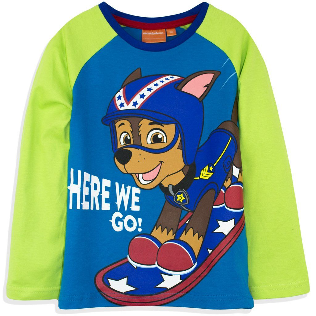 Kids' Clothes, Shoes & Accs. Boys' Clothing (2-16 Years) Paw Patrol Boys Long Sleeve Tops 100% Cotton T-shirts Marshall Rubble 2-6 Yrs