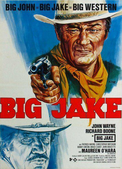 John Wayne Big Jake Classic Movie Posters Wall Art Framed Movie Posters Vintage Movie Posters John Wayne Movies