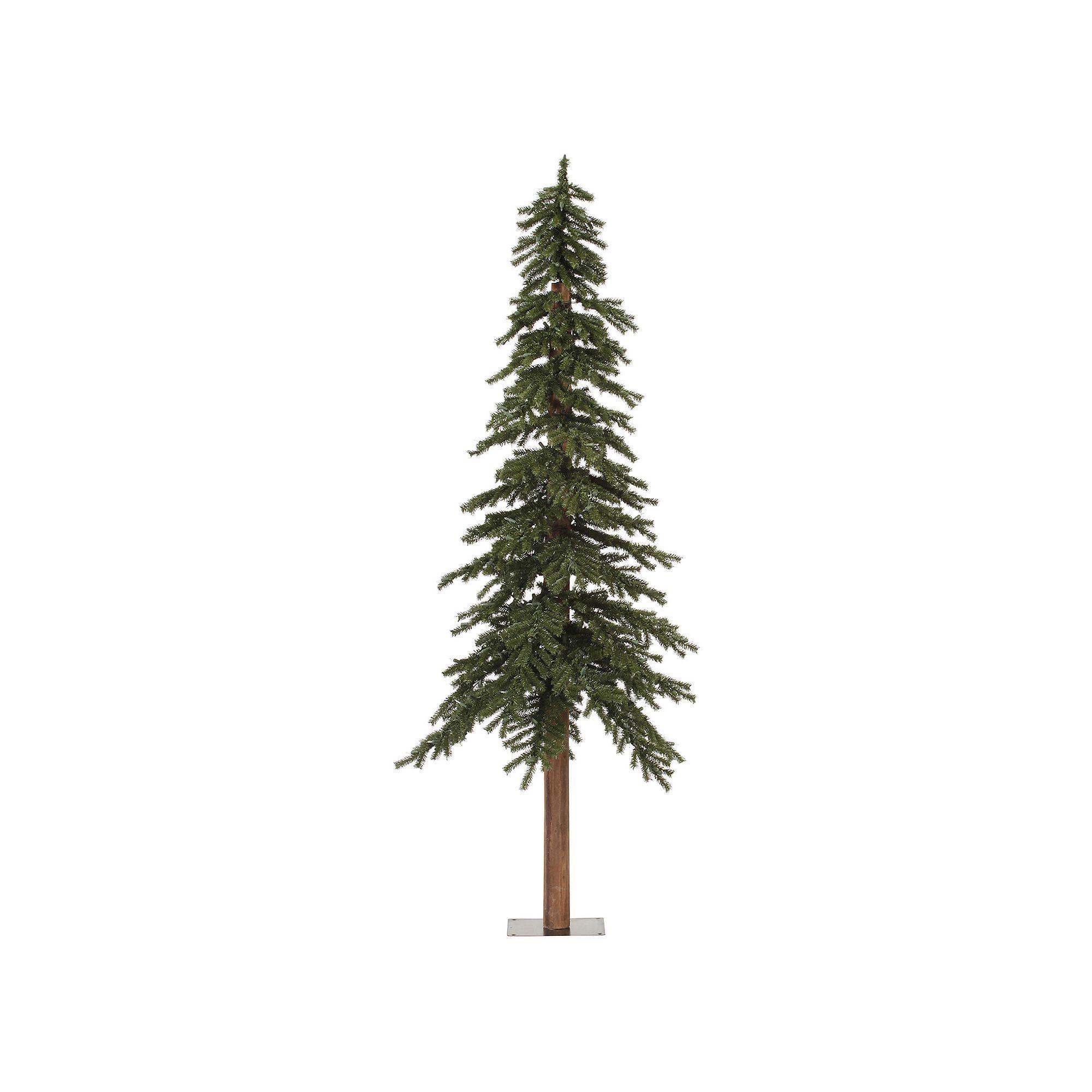 5dd5f578f7f ... Multi-Colored Lights. Vickerman 7-ft. Natural Alpine Artificial Christmas  Tree