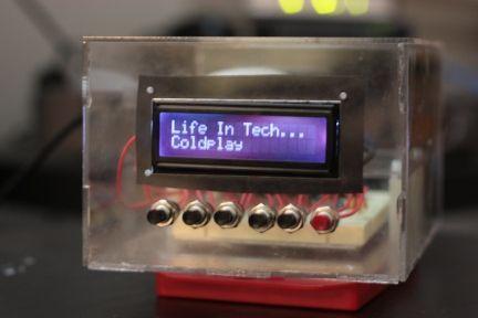 Pandora's Box - A Pandora-streaming internet radio player made with a Raspberry Pi