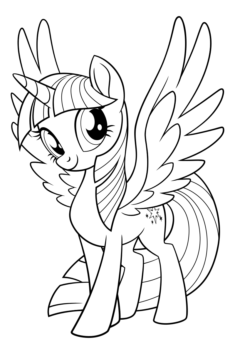 It's just a graphic of Invaluable My Little Pony Unicorn Coloring Pages