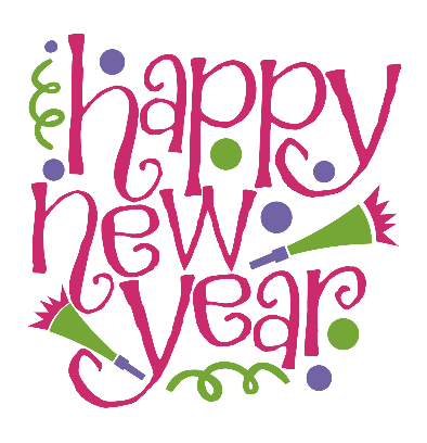 45+ Clipart New Years Day 2020