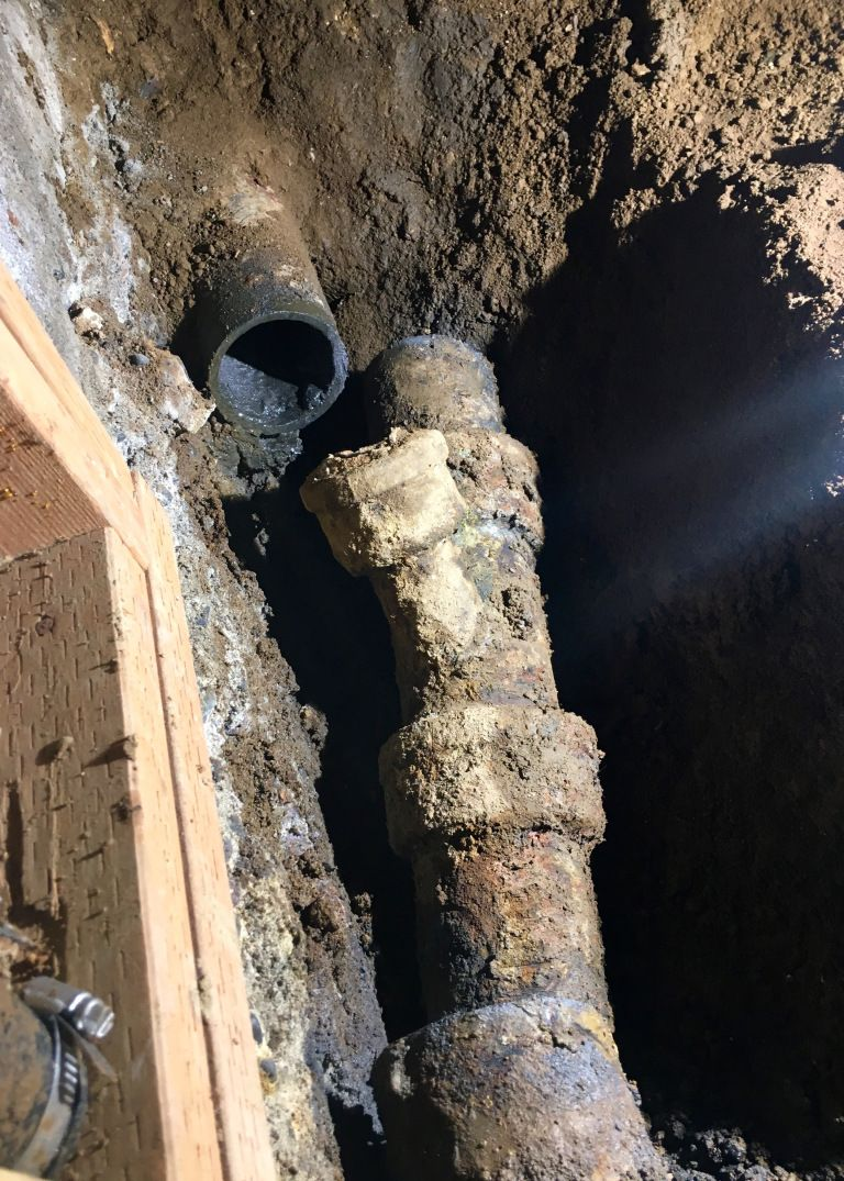 Cast Iron Sewer Pipe