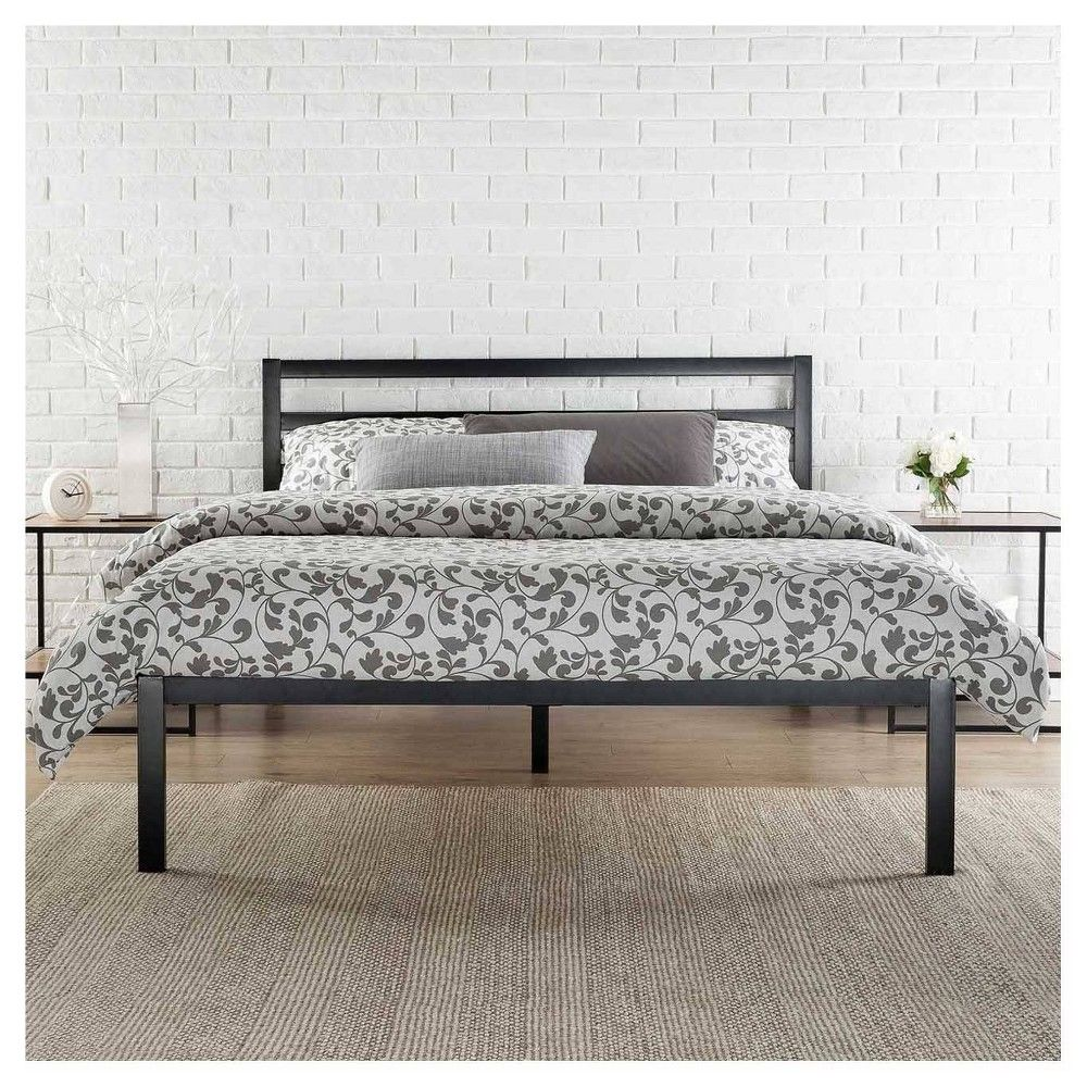 14 Twin Mia Modern Studio Platform 1500h Metal Bed Frame Zinus