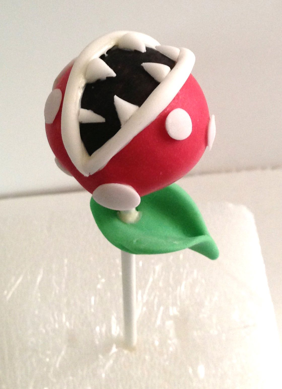 Mario Brother S Nintendo Character Cake Pops Venus Fire Trap