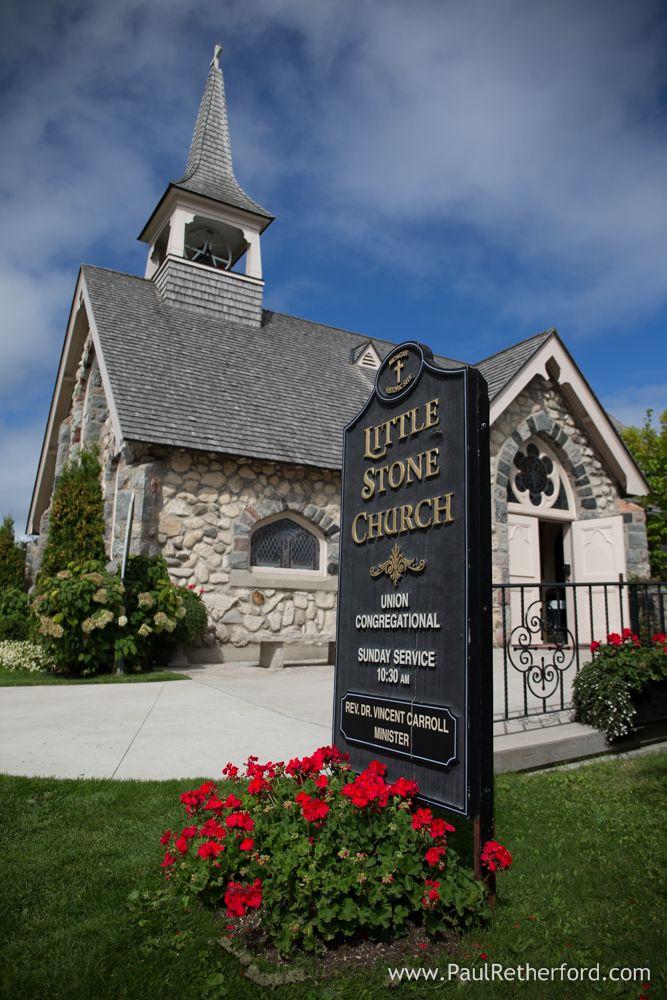 Wedding Chapels In Michigan   Little Stone Church Wedding Venue Mackinac Island Photography