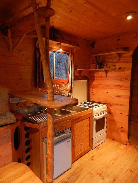 am nagement de camion am nagement de vehicule campers vans pinterest vans van life and. Black Bedroom Furniture Sets. Home Design Ideas