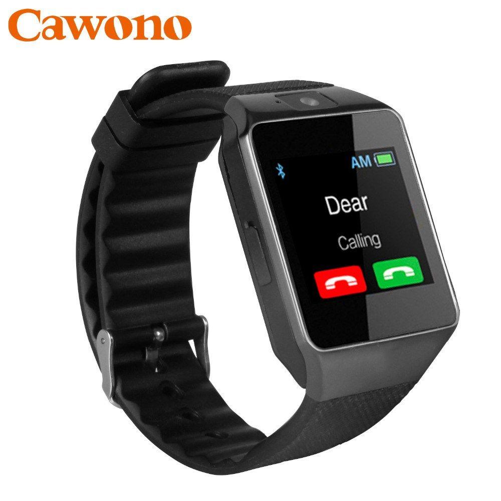 d9238ef905c Большая скидка 710.65 руб Cawono Bluetooth Smart часы dz09 Relojes SmartWatch  relogios TF SIM Камера для iOS iPhone Samsung Huawei Xiaomi телефона Android  ...