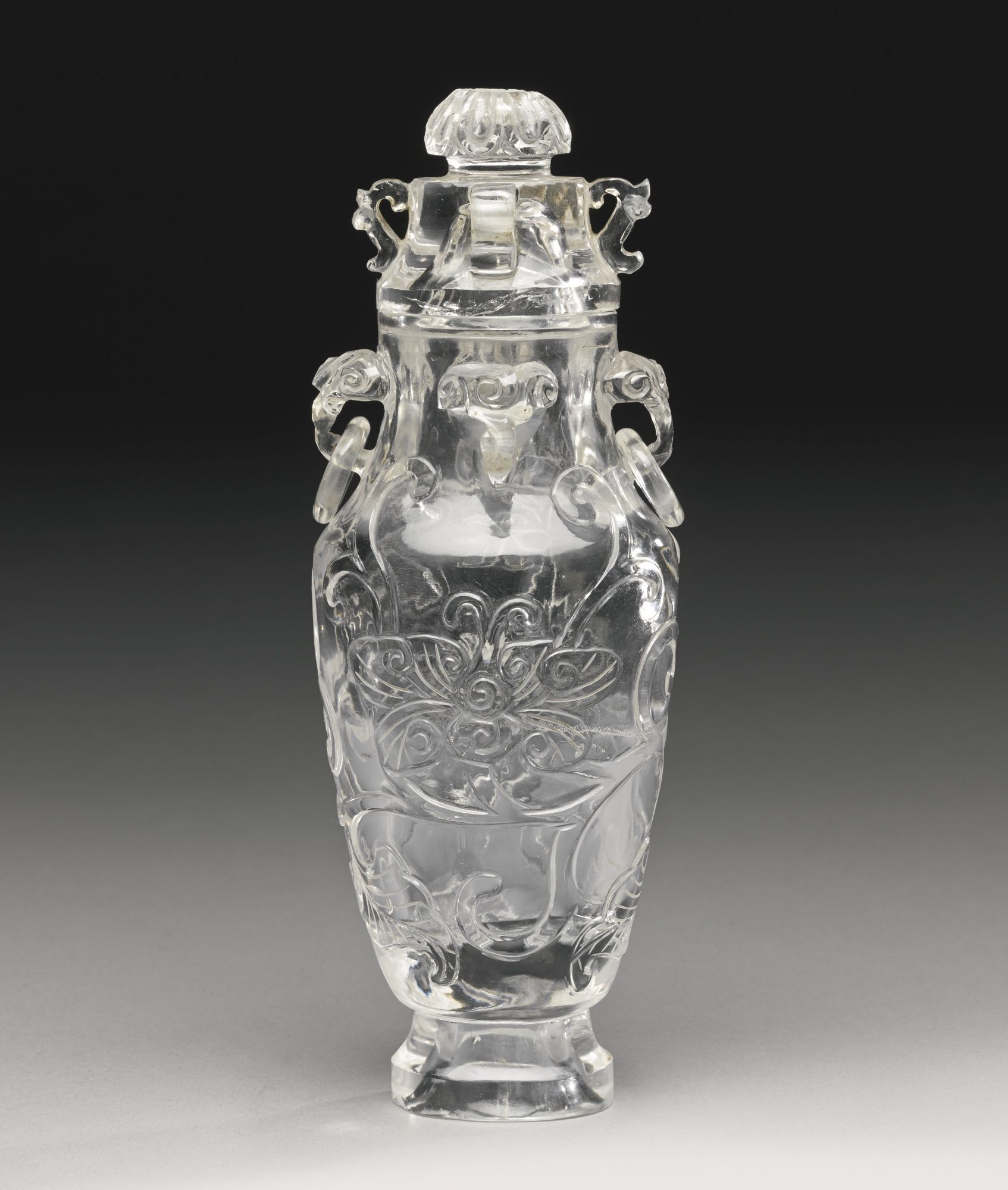 A rock crystal vase and cover late 19th early 20th century a rock crystal vase and cover late early century reviewsmspy