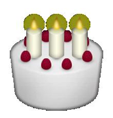Gâteau D Iphone Emoticons Birthday Cake With Photo Emoji Cake