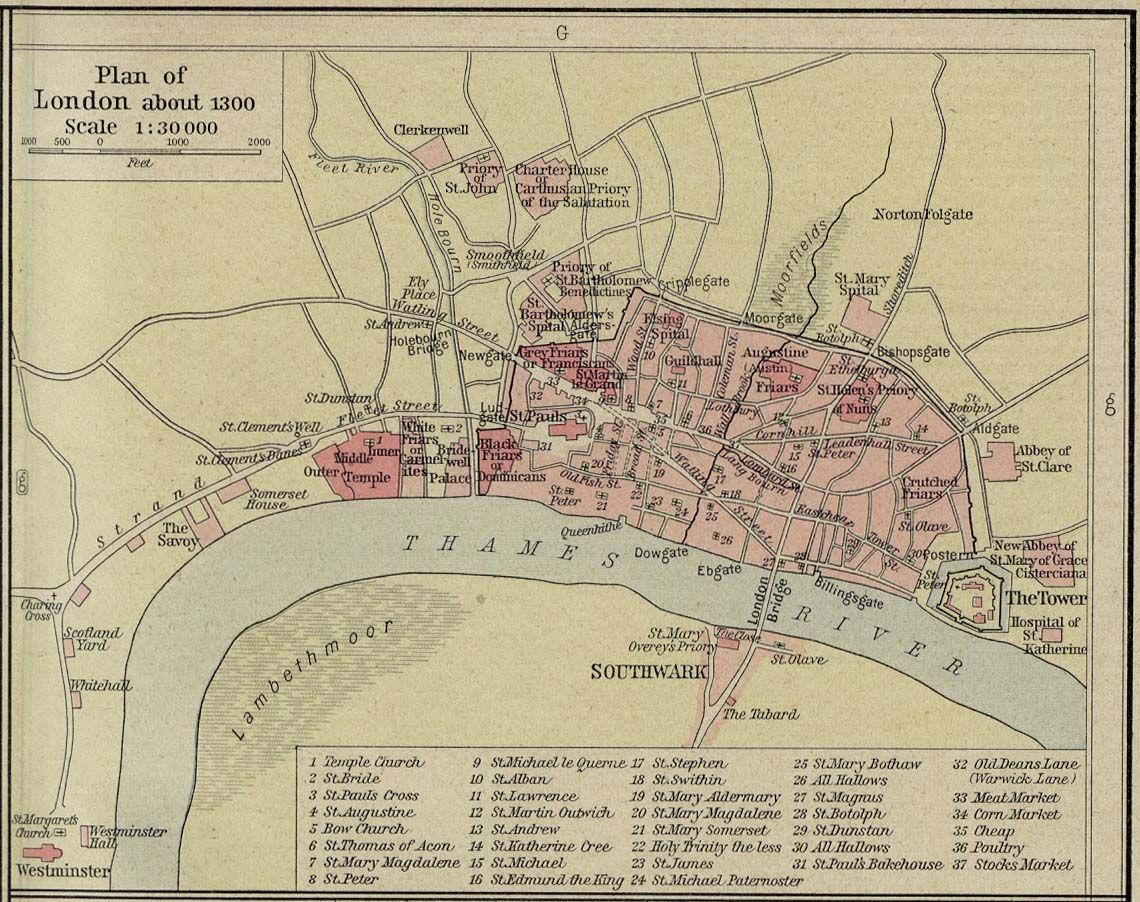 London Research Pinterest History London History And - London map historical