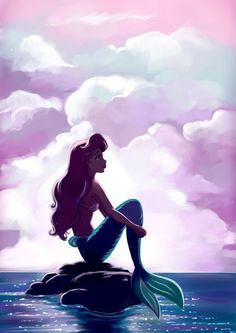 The Little Mermaid by Mellodee