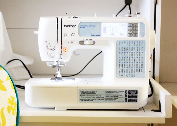 Brother SE40 Sewing Machine Review Embroidery Pinterest Awesome Brother Se350 Computerized EmbroideryAndSewing Machine