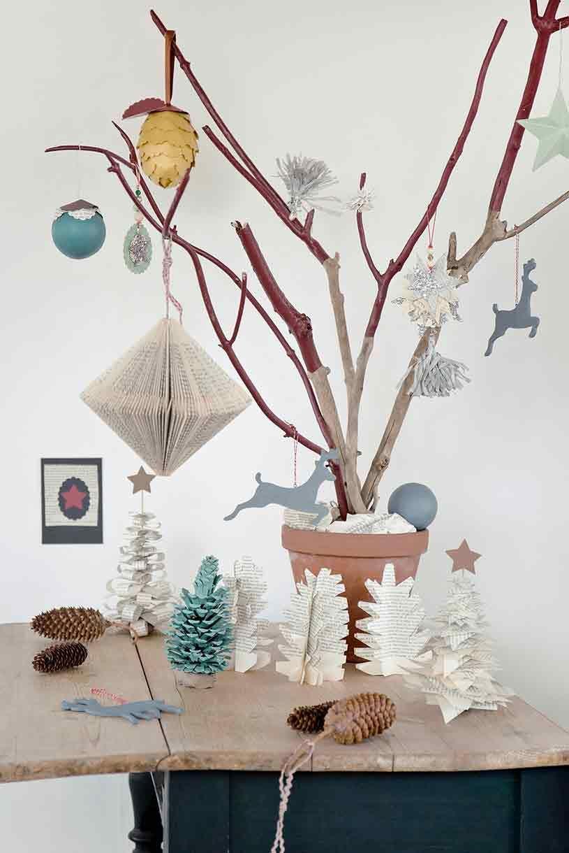 Branche D Arbre Sapin De Noel 20 sapins de noël revisités   décoration saisonnière