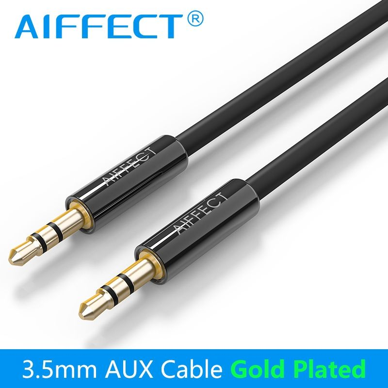 AIFFECT Jack 3.5mm Auxiliary AUX Audio Cable Male to Male AUX Stereo ...