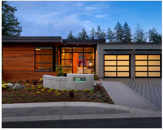 Mcm Contemporary Garage Exterior Design Eco House Design Garage Design