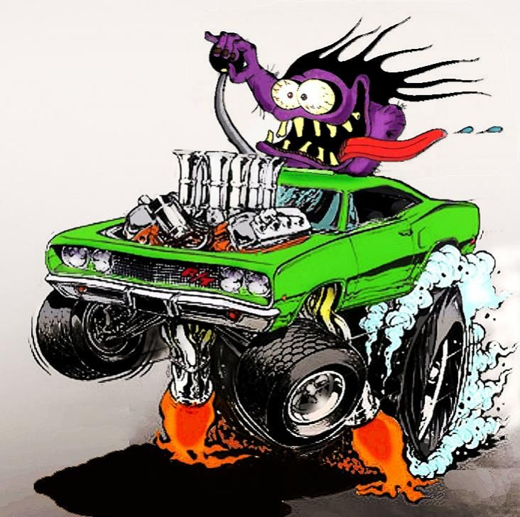 Ed Roth Car Monsters Ford