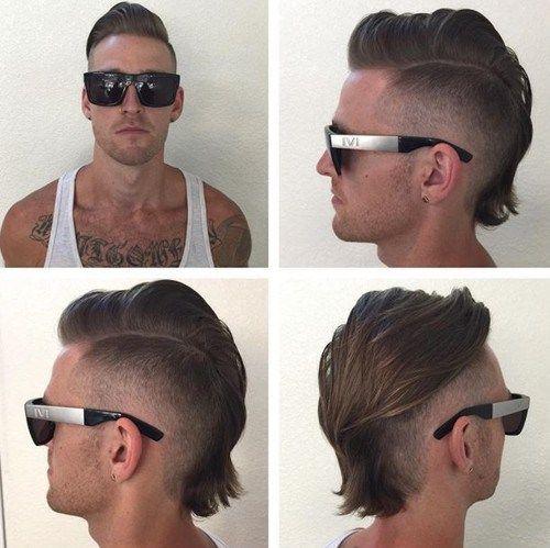 Fake It Til You Make It The 40 Hottest Faux Hawk Haircuts For Men Mohawk For Men Haircuts For Men Long Hair Styles Men