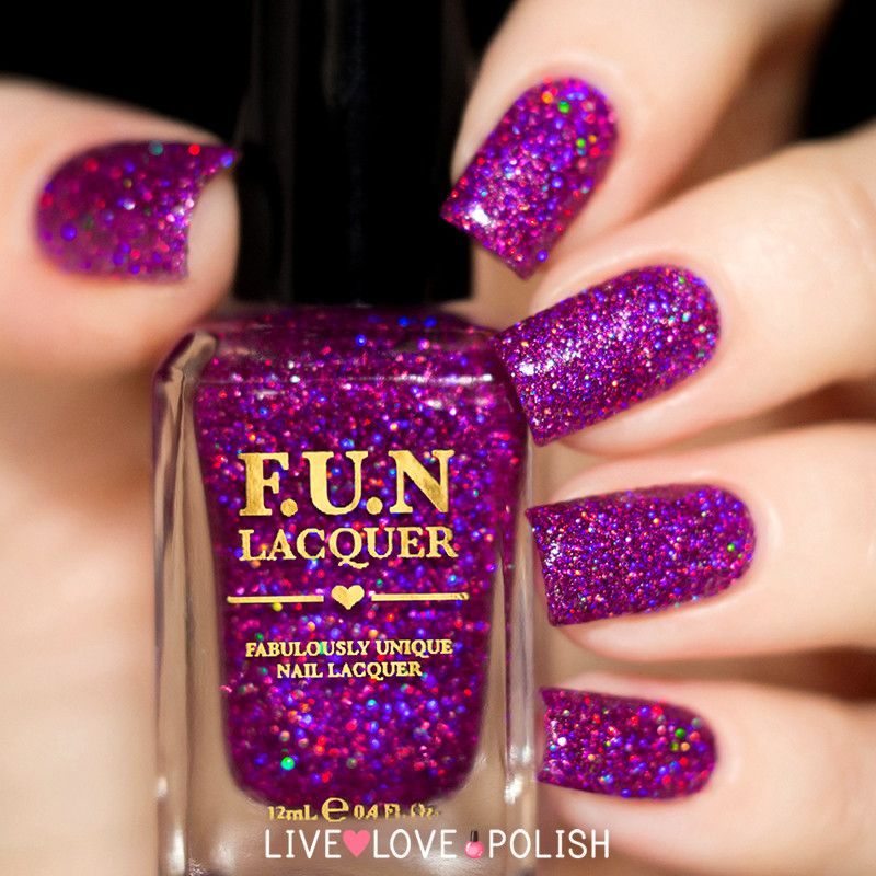 Fun Lacquer Holo Queen (Simplynailogical Collection) | FUN lacquer ...